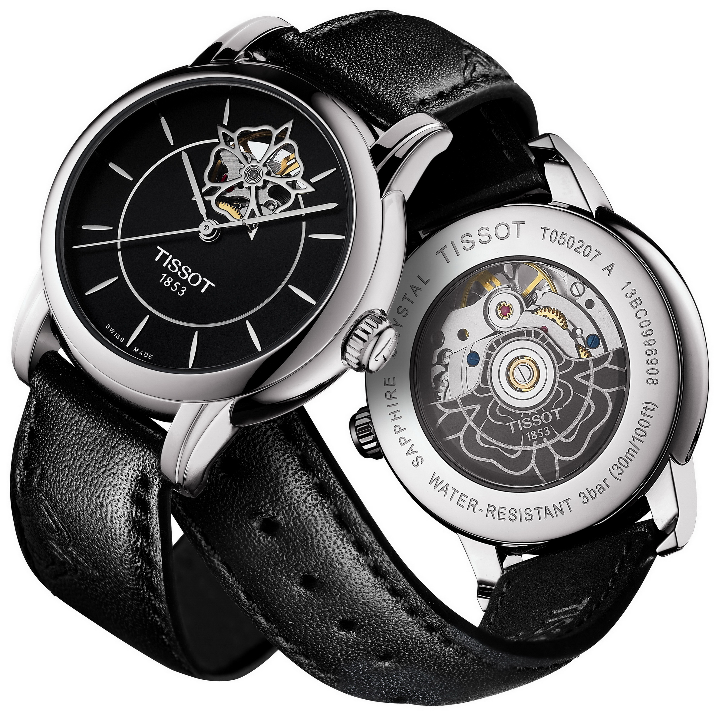 圖1.TISSOT Lady Heart 80小時自動腕錶 NT$ 22,500