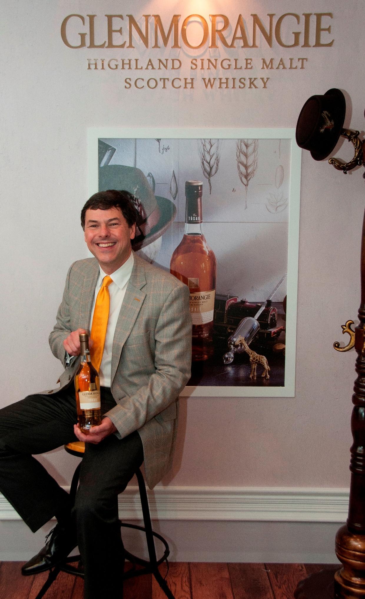 格蘭傑酒廠暨威士忌釀製團隊總製酒師比爾˙梁思敦博士最新力作-格蘭傑Tusail-s
