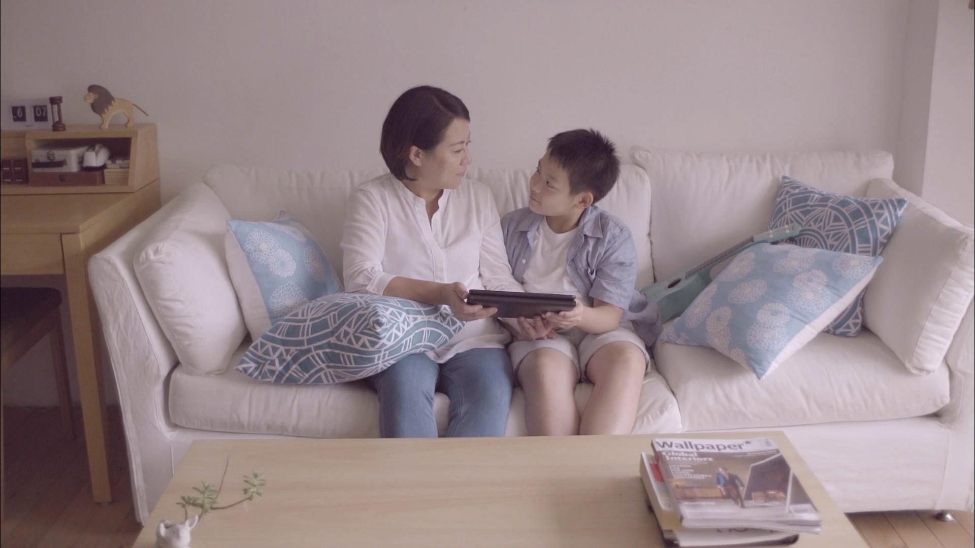 素人母子感動全片場 TutorABCJr首發電視廣告賺人熱淚