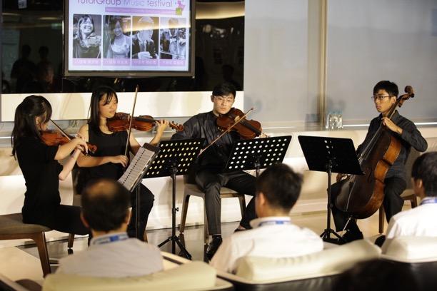 幸福企業員工日來了!TutorABC台大交響樂團古典樂賞析會 全體員工同樂