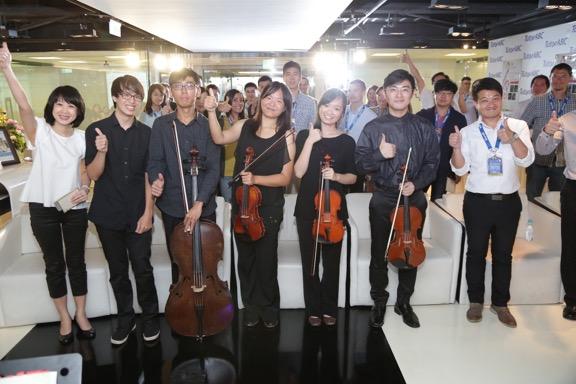 TutorABC與台大交響樂團學術單位跨界合作