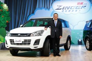 中華汽車總經理陳昭文對於雙贏ZINGER的推出深具信心
