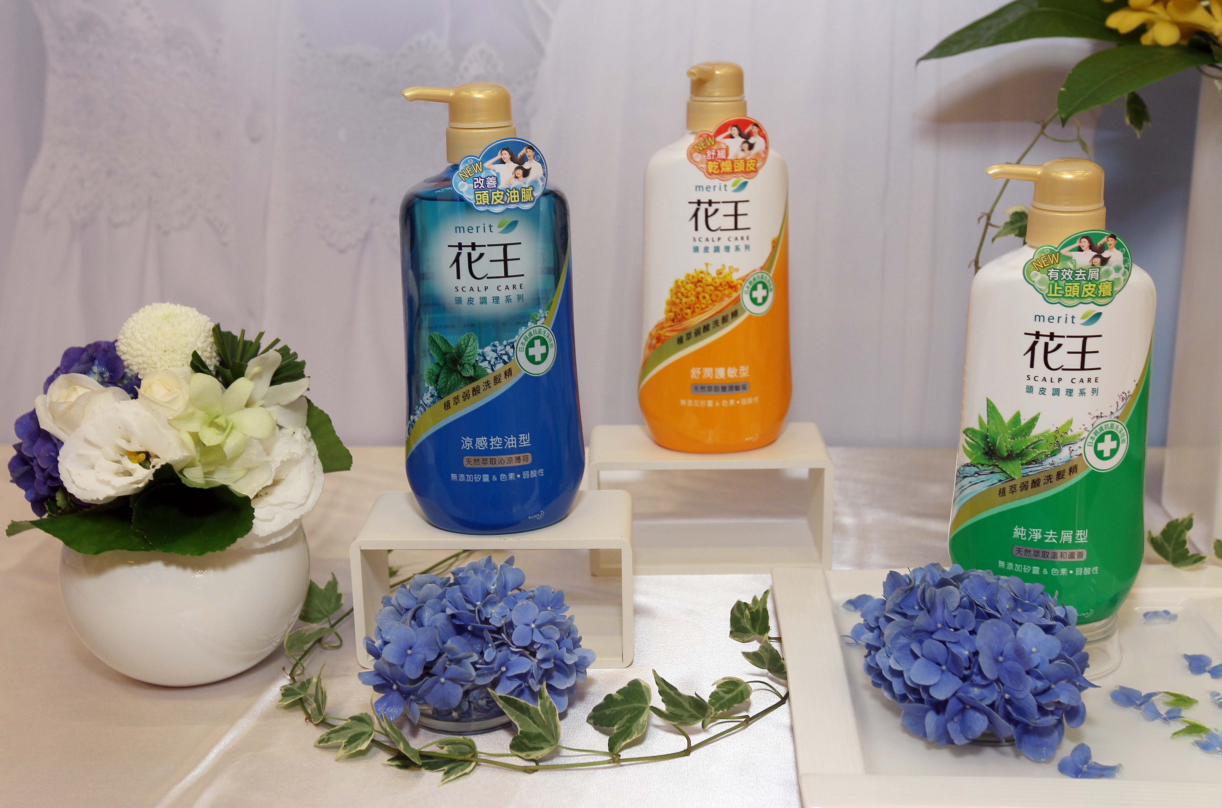 圖說-產品照-花王洗髮精頭皮調理系列