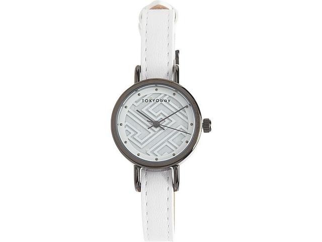 02 TOKYObay Fuji系列手錶白色