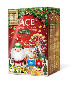 ACE根特小鎮聖誕月曆禮盒-假立體(中)