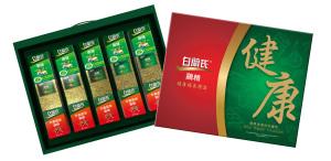 好市多獨家推出全新「健康福氣」禮盒,消費者可以一次購足白蘭氏最經典暢銷的傳統鷄精、冬蟲夏草鷄精和西式香草鷄精