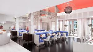 Club Med三亞度假村擁有2座不同風味的餐廳,除了提供國際自助三餐佳餚的主餐廳外,還規劃了充滿亞洲風味的燒烤BBQ主題餐廳!圖為亞洲燒烤主題.._
