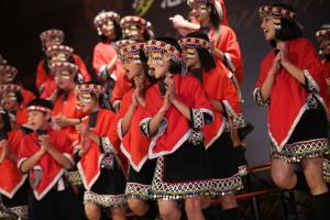 TutorABC公益音樂會 台灣童聲合唱團的小朋友們認真活潑的獻出最純真乾淨的美聲