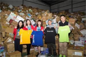 舊鞋舊衣送非洲計畫 TutorABC捐制服新衣創紀錄 號召良心企業共襄盛舉