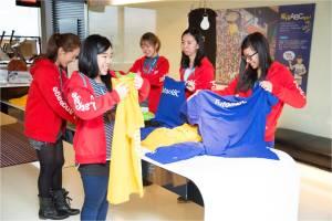 TutorABC員工們開心投注公益愛心活動 將關懷的溫度穿出去 (1)