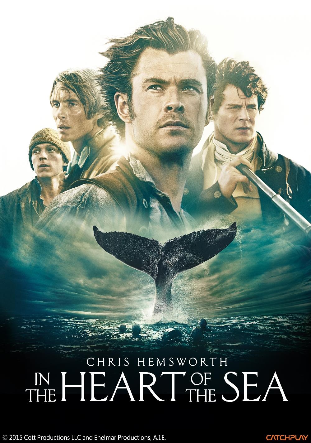 四月份friDay影音推出好萊塢超強新片《白鯨傳奇怒海之心》