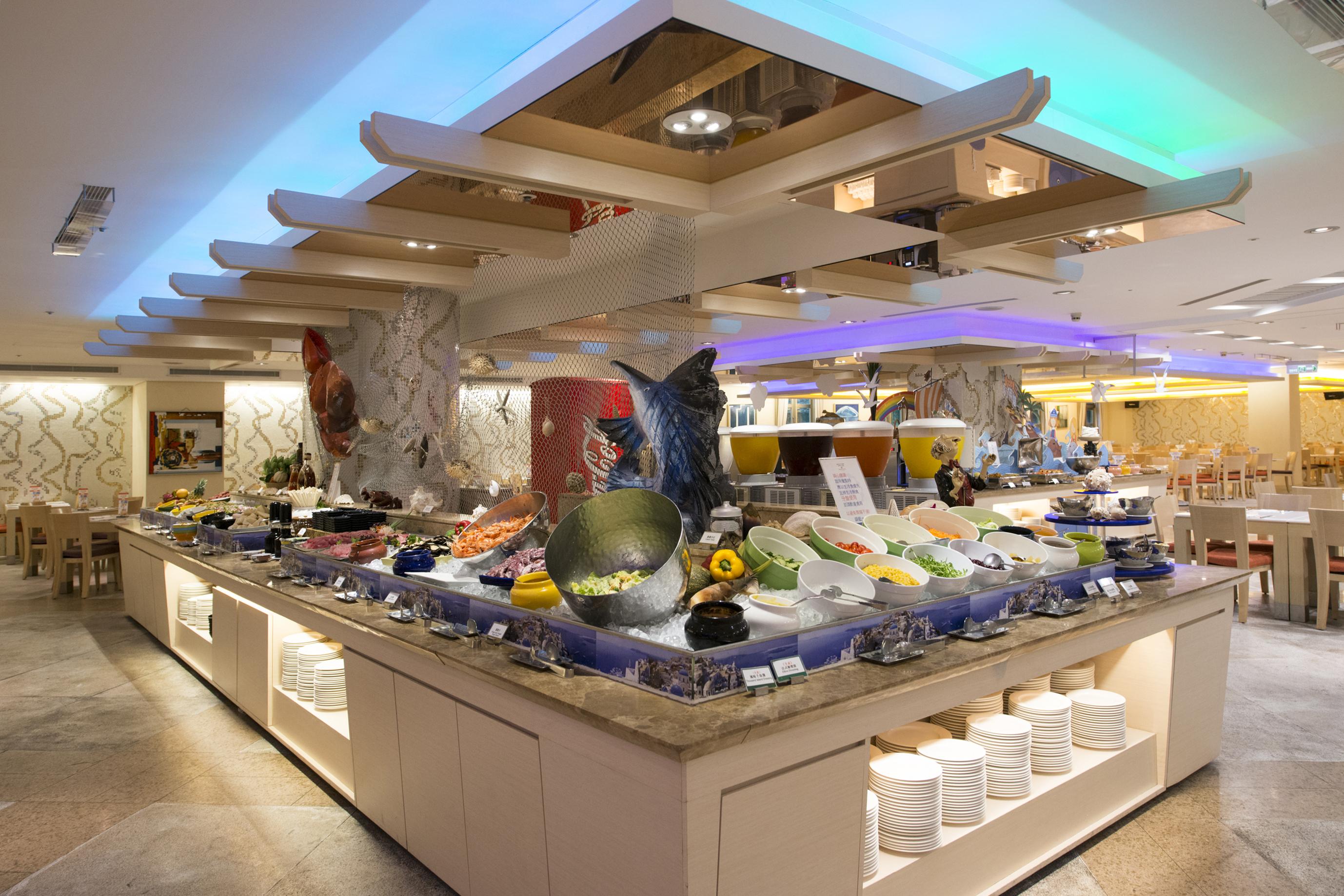 蔚藍西餐廳1