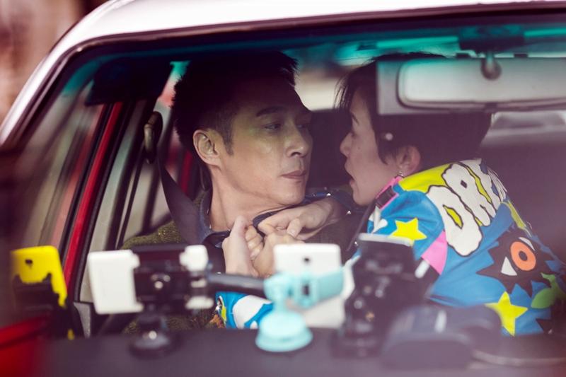 佘詩曼吳鎮宇兩人車上大吵 是歡喜冤家
