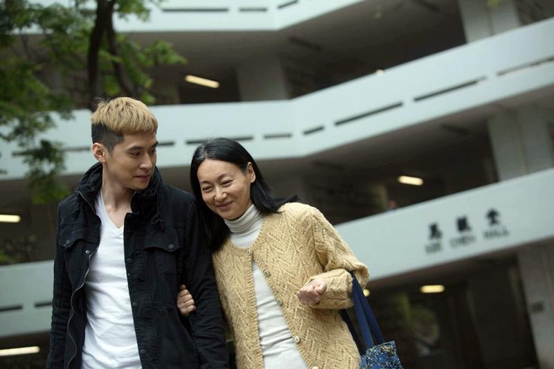 惠英紅陳家樂通童演出《幸運是我》