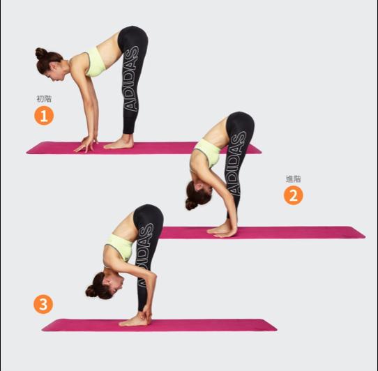 瑜珈-站姿前彎