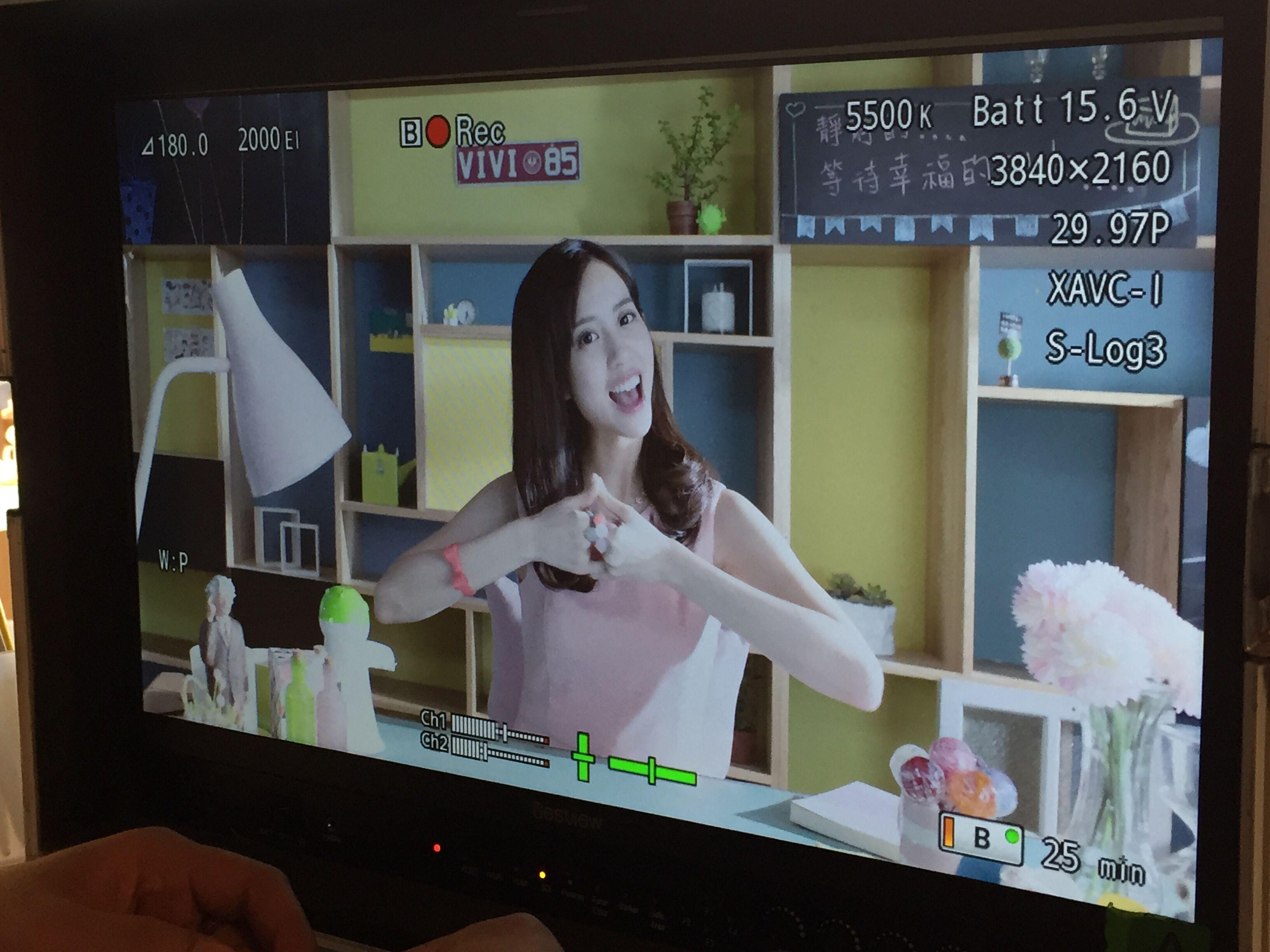 「青木瓜女神」何紫妍,為代言手遊《正宗勁舞團-手機版》拍攝MV1