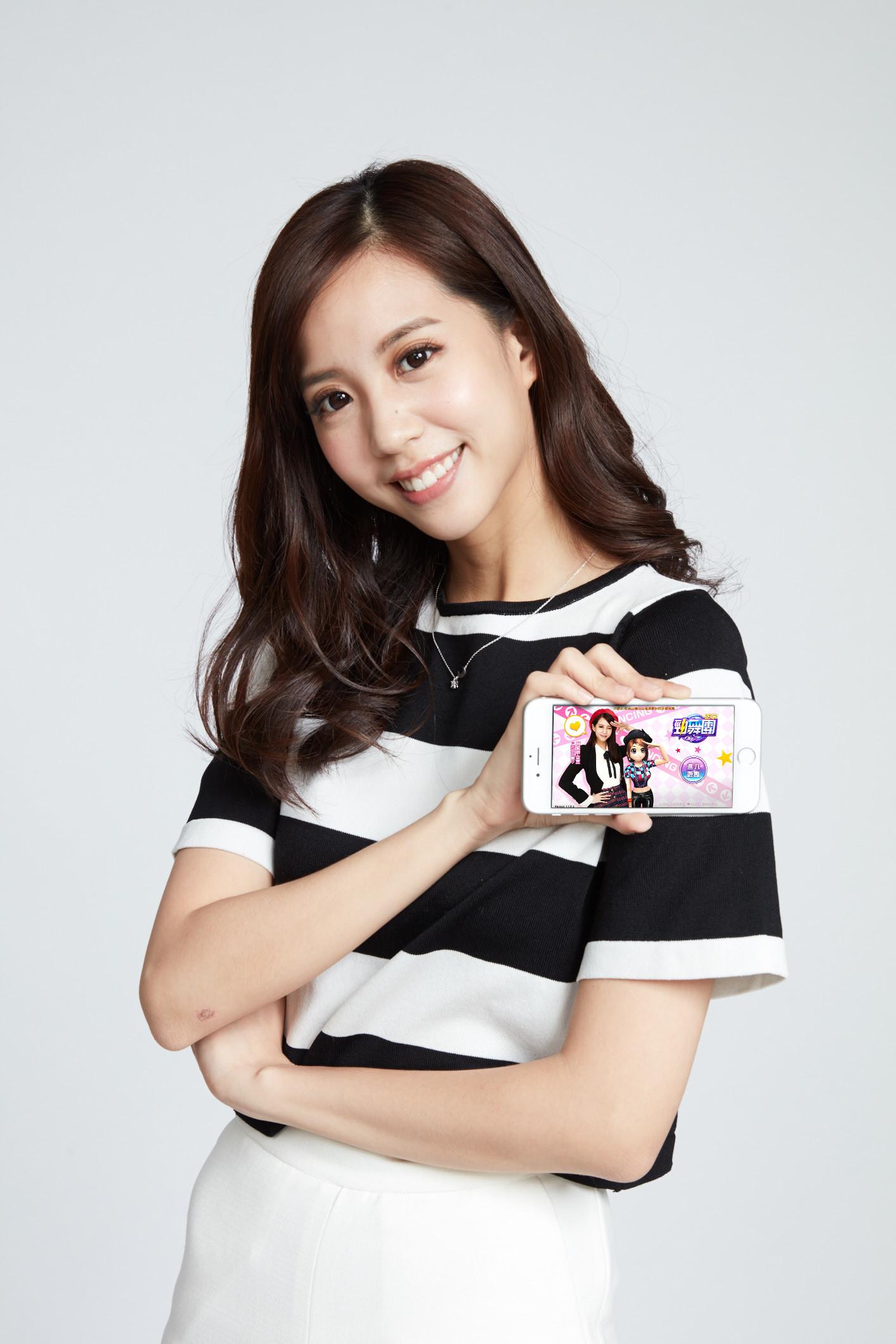 「青木瓜女神」何紫妍,首次代言手遊《正宗勁舞團-手機版》3