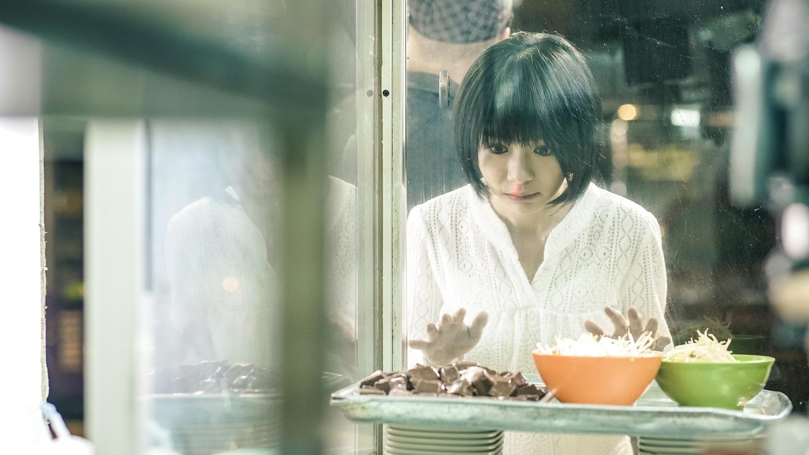 林明禎飾演女殭屍無法說話 只以表情動作來演出