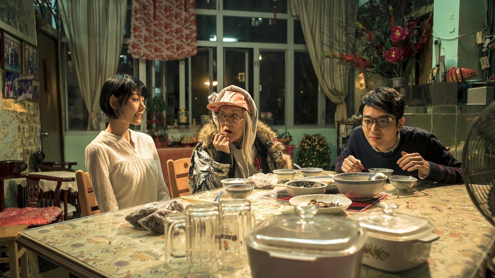 蔡瀚億帶著林明禎 來到奶奶邵音音家吃飯