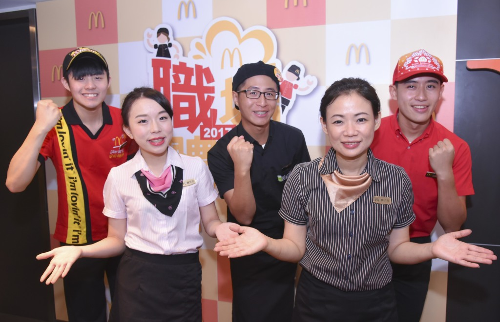【圖一】「麥當勞一站式職場體驗」釋出2,500名優質職缺,每年吸引近萬人參加
