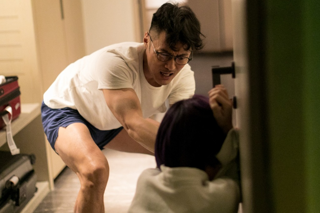 片中有一場在台灣拍攝關鍵地震戲2