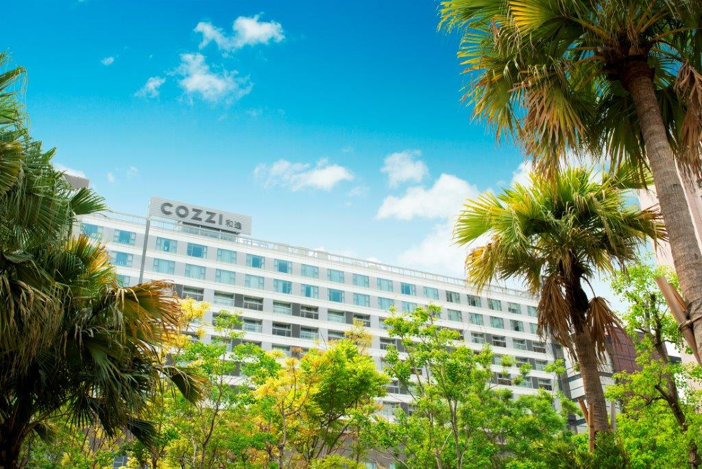 HOTEL COZZI和逸飯店‧台南西門館_外觀
