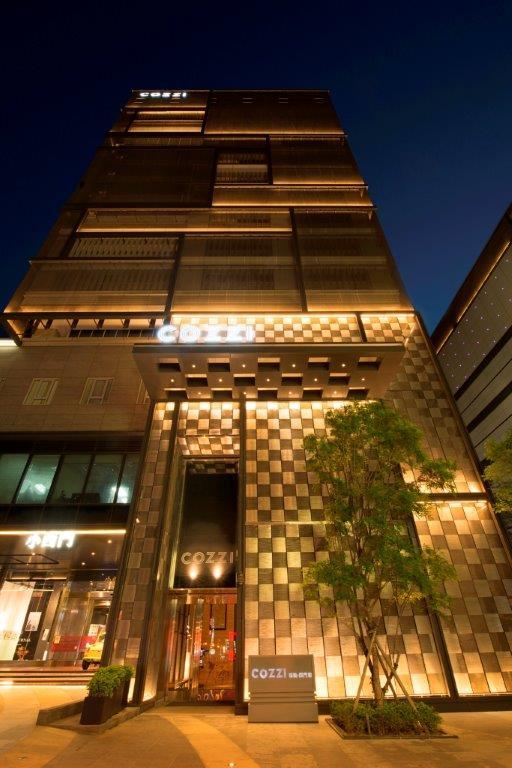 HOTEL COZZI和逸飯店‧台南西門館_夜景