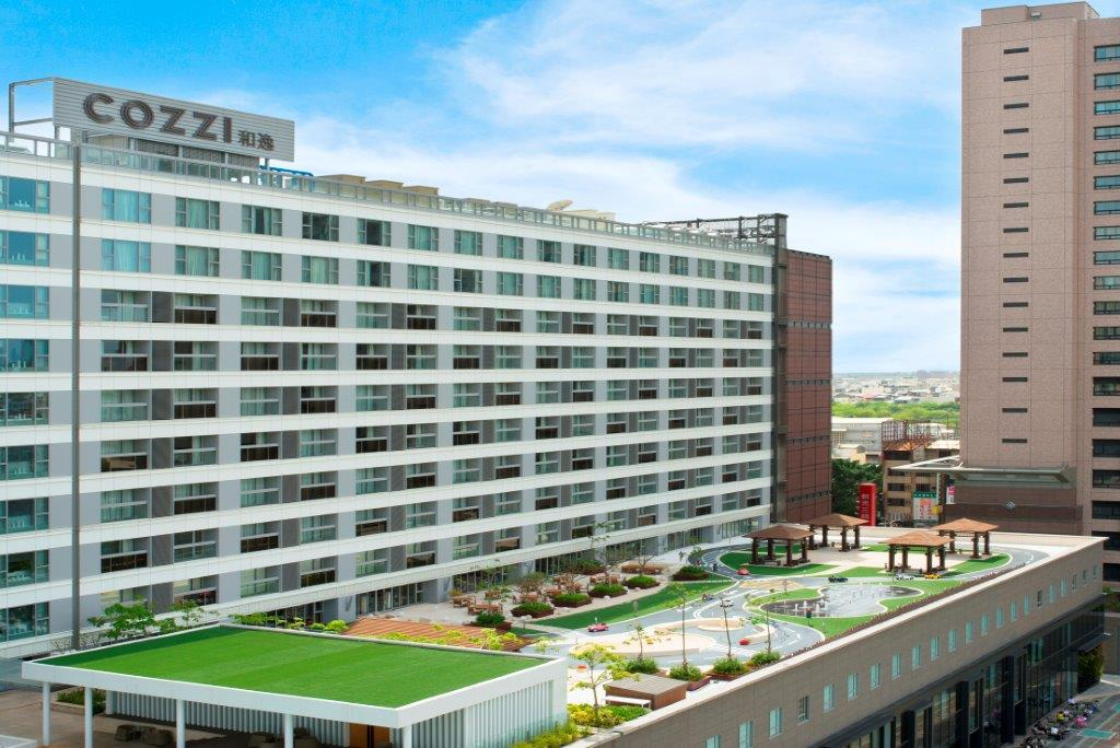 HOTEL COZZI和逸飯店‧台南西門館_奇趣操場日景