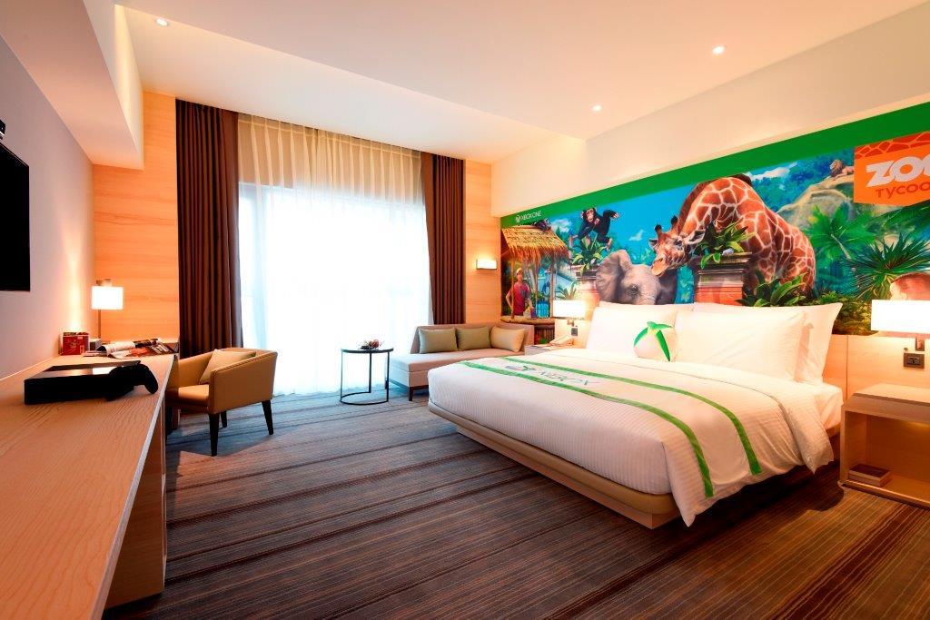 HOTEL COZZI和逸飯店‧台南西門館_XBOX主題房