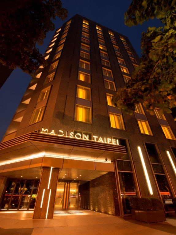 MADISON TAIPEI HOTEL幕軒飯店_外觀夜景