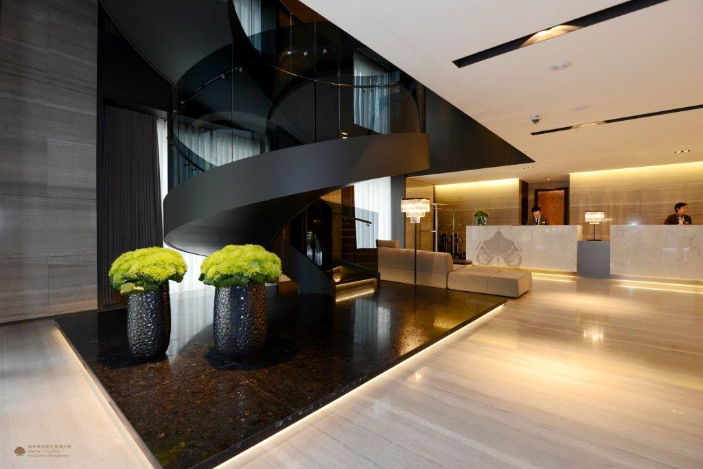 MADISON TAIPEI HOTEL幕軒飯店_大廳旋轉梯