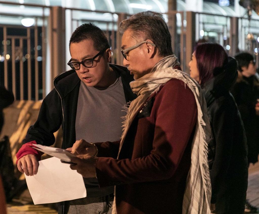 導演彭浩翔(左)喜歡五月天歌曲「志明與春嬌」 才引發拍攝此系列電影