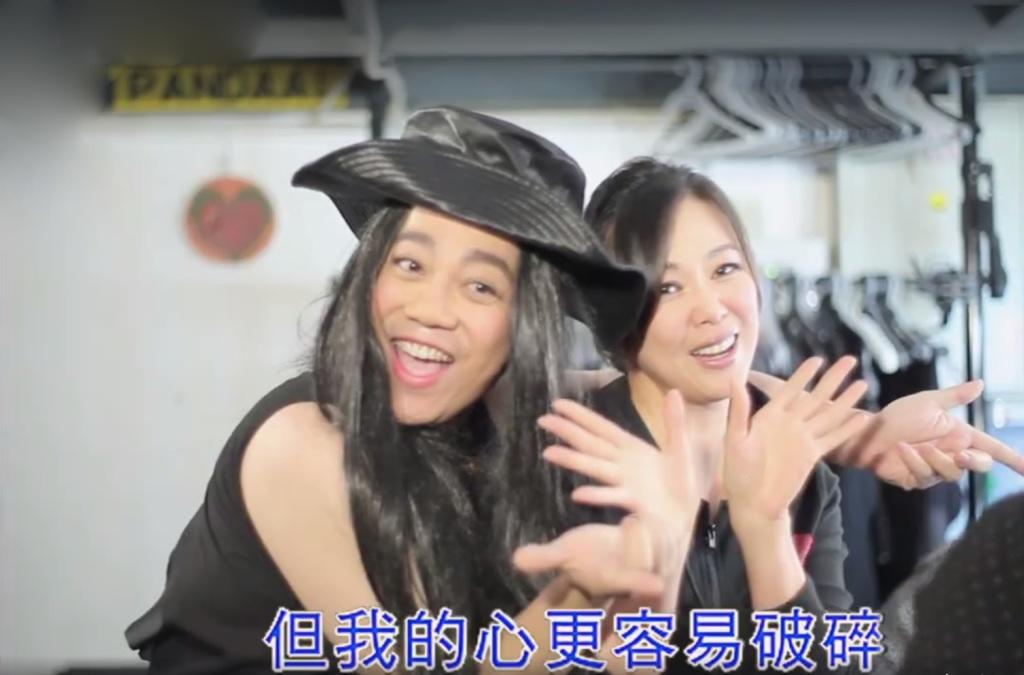 彭浩翔導演衝出鏡頭外 邀請王馨平一同演出 笑翻全場(畫面截自網路)