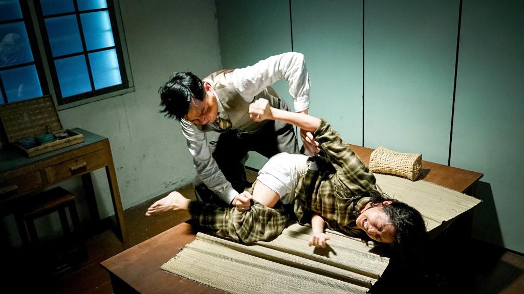 林家棟與衛詩雅首度合作 第一場就演出極為逼真的強暴戲1