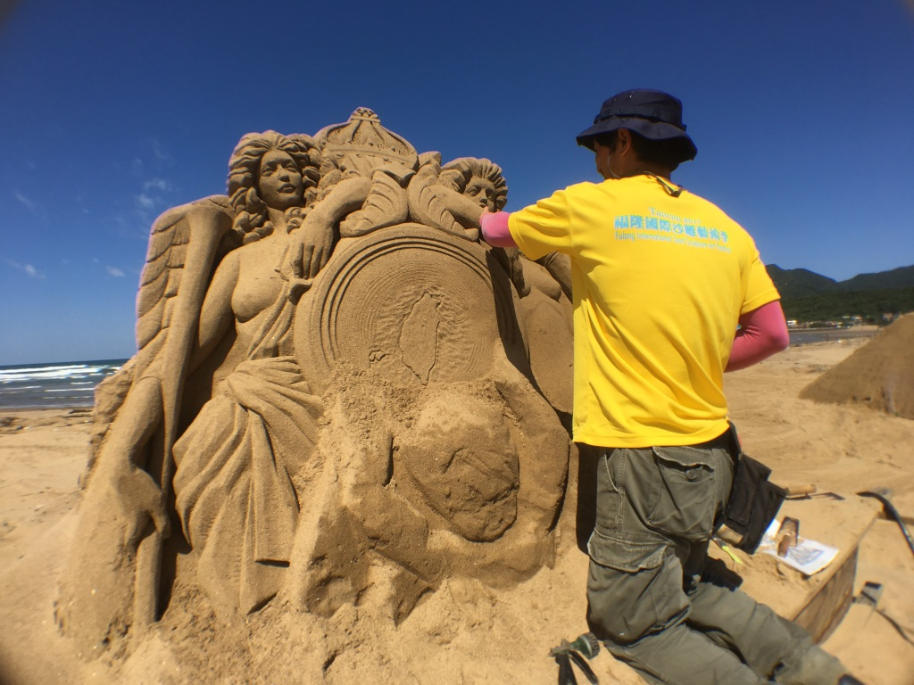 福容大飯店新聞稿-福隆國際沙雕季5.6登場 全台最高城堡沙雕亮相4