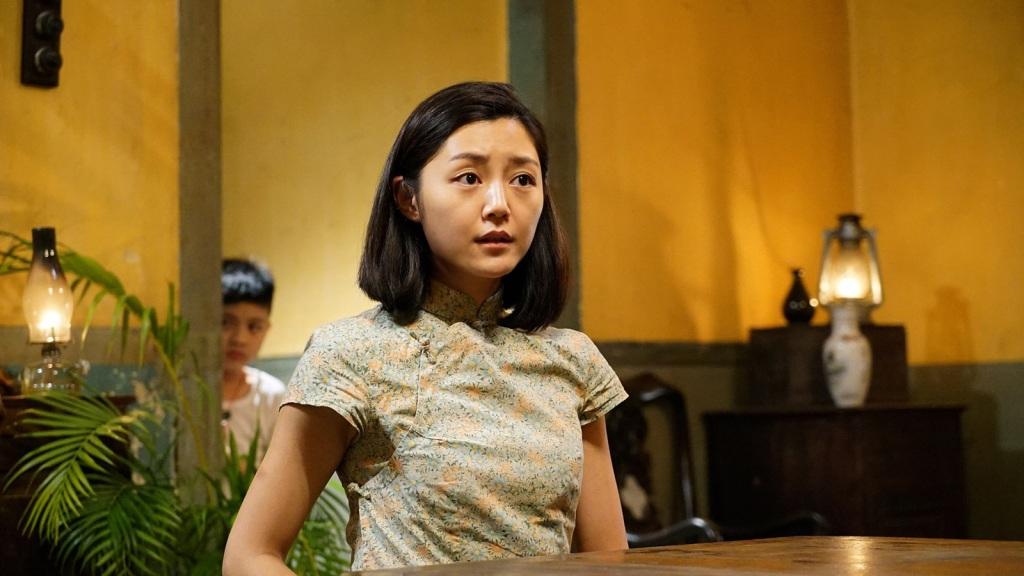 香港女星衛詩雅 和黃秋生在《失眠》裡有許多對手戲