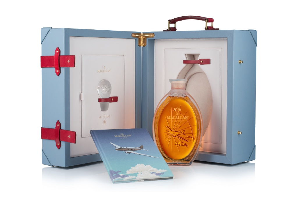 Golden Age of Travel旅行黃金時代第二款-水晶瓶身與外盒