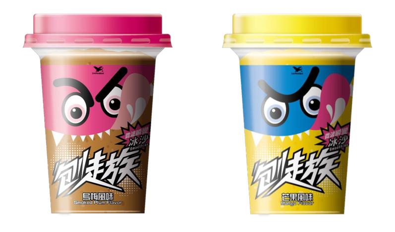 【刨走族】烏梅風味冰沙 芒果風味冰沙 定價NT$55元 :330mL
