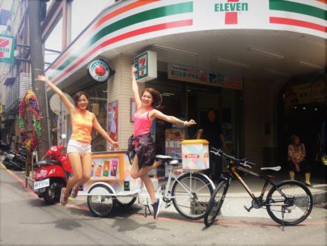原味本舖女孩將出現在北中南各大景點!全台民眾只要鎖定出沒地點、替此次【原味本舖巡迴挑戰】加油,並與原味本舖女孩及腳踏車一同拍照,即可免費獲得冰品!-2