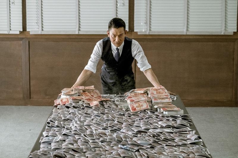 劉德華繼《無間道》後再次演出亦正亦邪的角色 贏得滿堂采