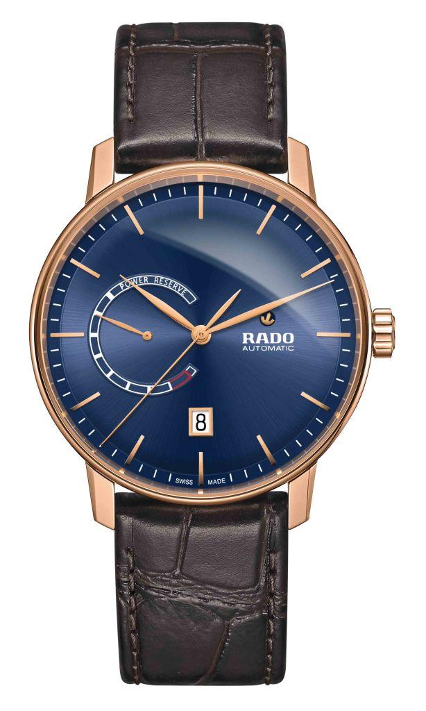 Rado Coupole Classic動力儲存腕錶_藍_型號R22879205_建議售價NTD55,900