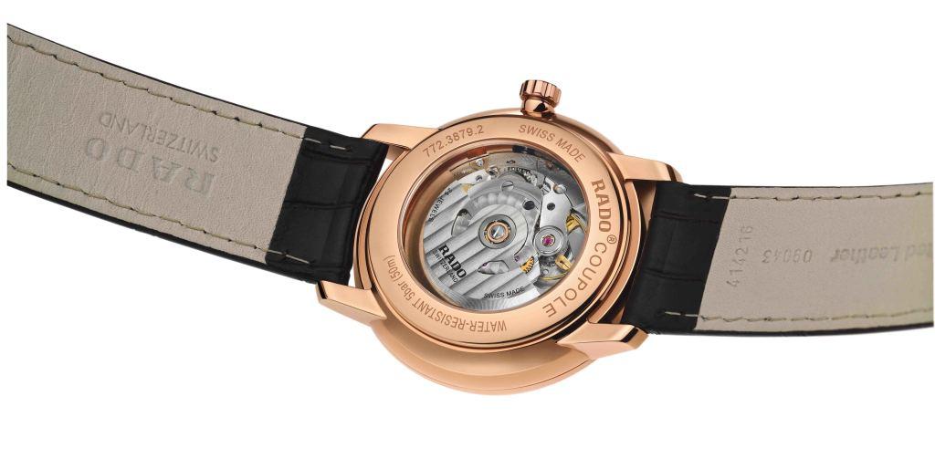 Rado Coupole Classic動力儲存腕錶_藍_型號R22879205_建議售價NTD55,900_背面