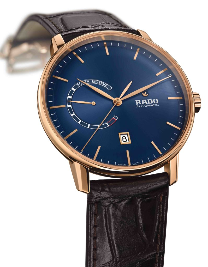 Rado Coupole Classic動力儲存腕錶_藍_型號R22879205_建議售價NTD55,900_面盤細節(2)