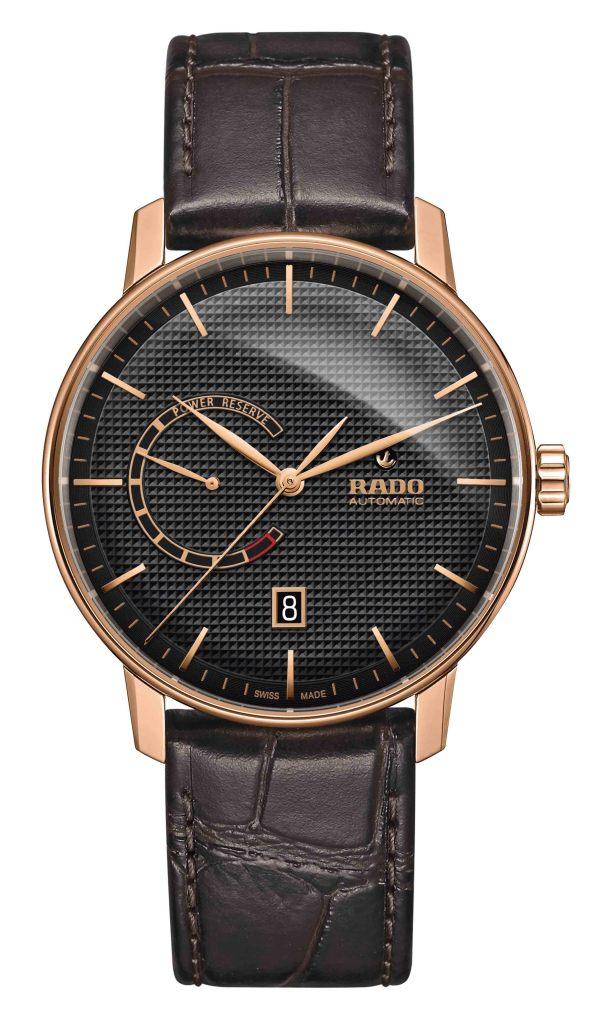 Rado Coupole Classic動力儲存腕錶_黑_型號R22879165_建議售價NTD55,900