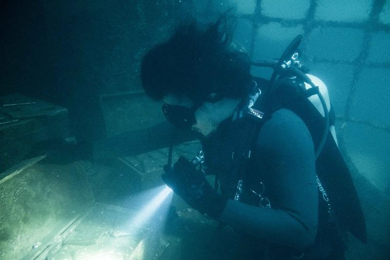 余文樂說水底窒息感太強烈 又看不見 像進入黑洞