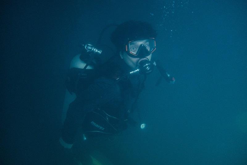 林家棟對深海打鬥戲仍印象深刻