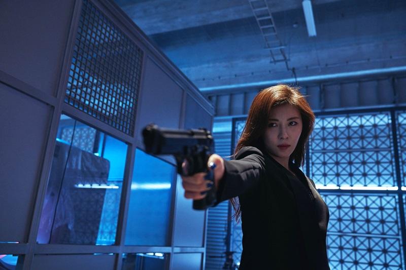 河智苑是吳宇森導演電影中首位冷酷女殺手1