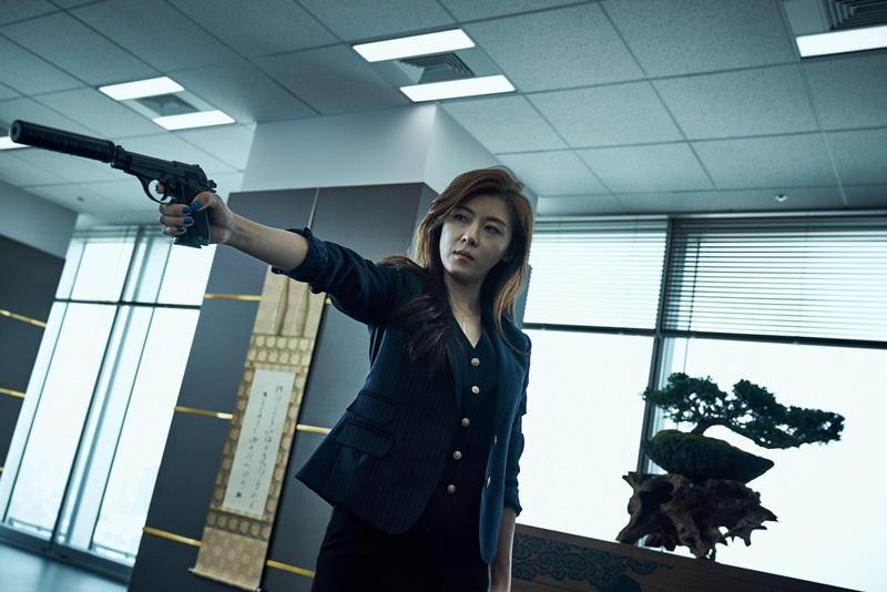 河智苑是吳宇森導演電影中首位冷酷女殺手2