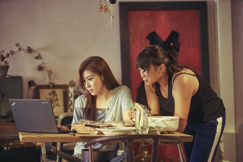 河智苑與吳飛霞飾演情同姊妹的殺手搭檔2