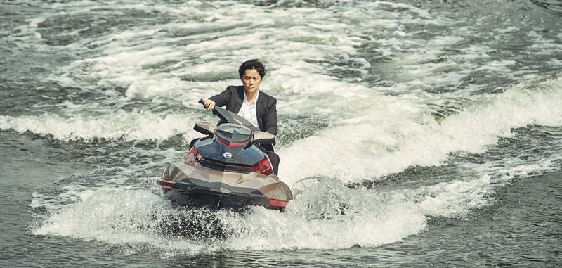 福山雅治考取水上摩特車駕照 親身上陣